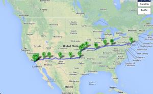 Ocean2Ocean USA Route 2