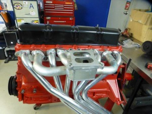 The inlet manifold has now been fabricated to take the 4 barrel Holley.  The manifold has been fitted, doweled and will be removed and bead blasted and refitted.  This is really beautiful work carried out by Troy Dunstan from Arundel Cylinder Heads just 15minutes drive from my workshop.