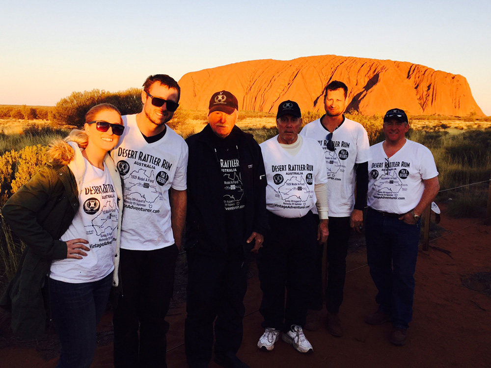 The DRR Team at Uluru