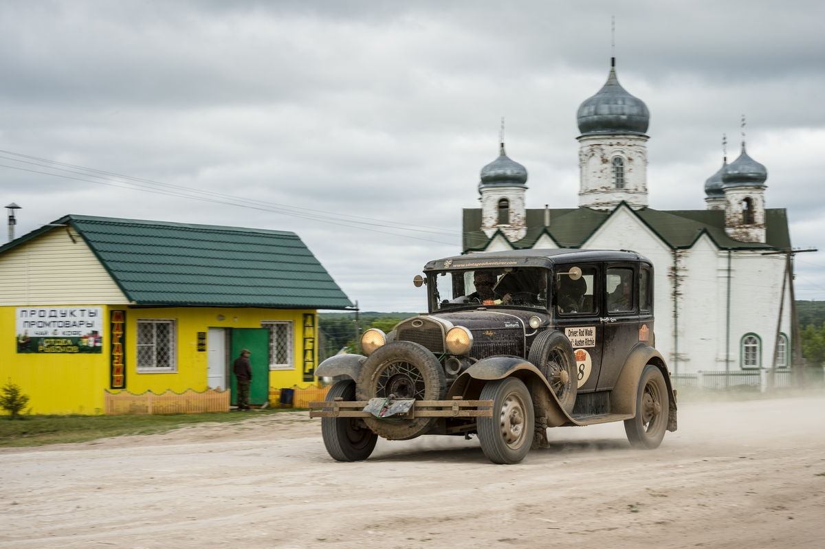 Vintage Adventurer arrives in Russia