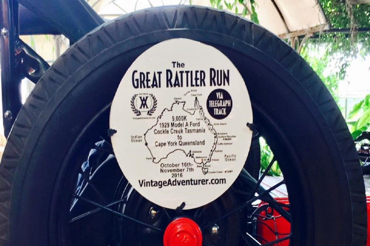 The Journey so far great rattler run vintage adventurer