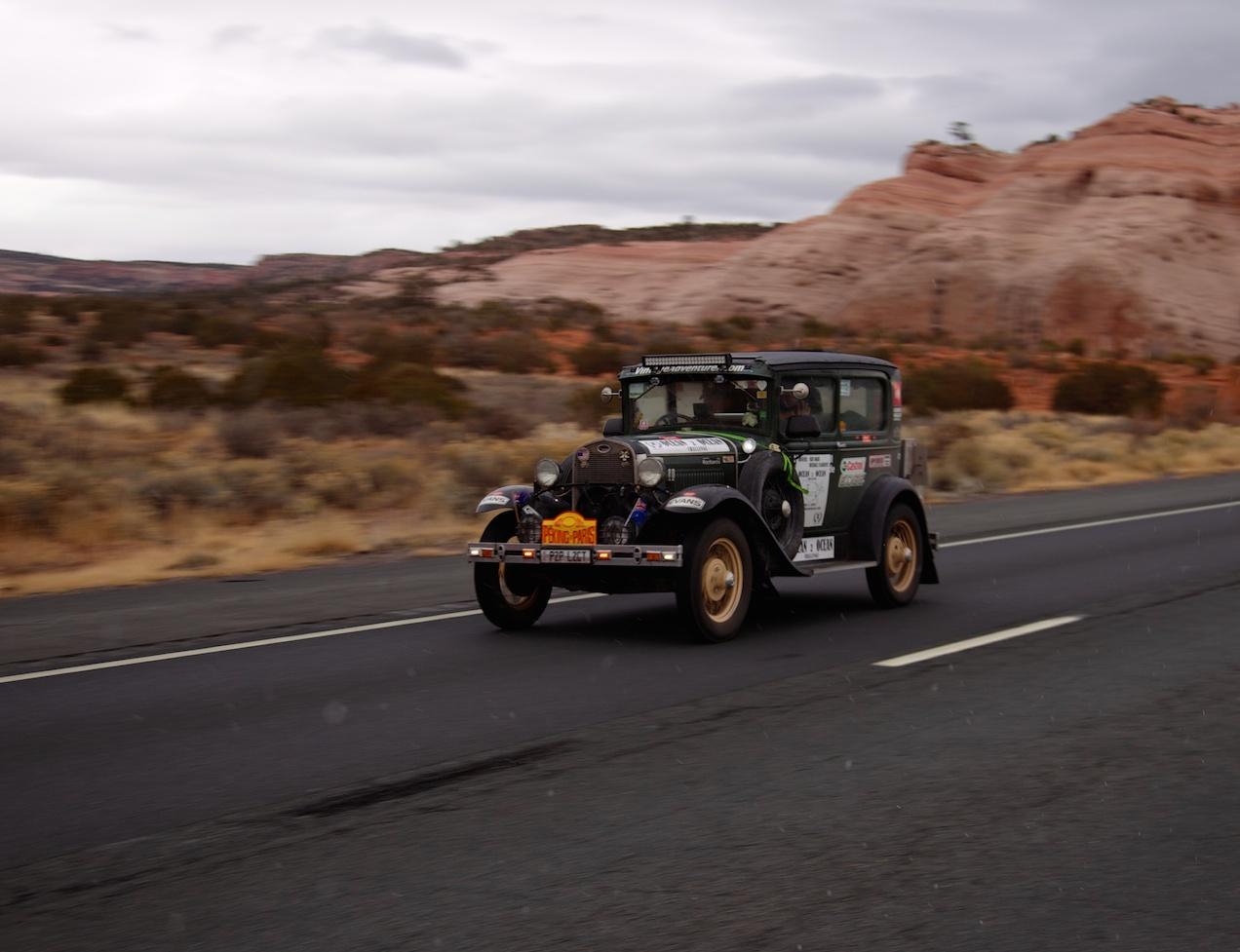 Through Arizona