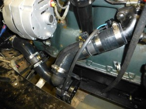 I made up a hose kit from off the shelf bits and fitted the Davies Craig water pump