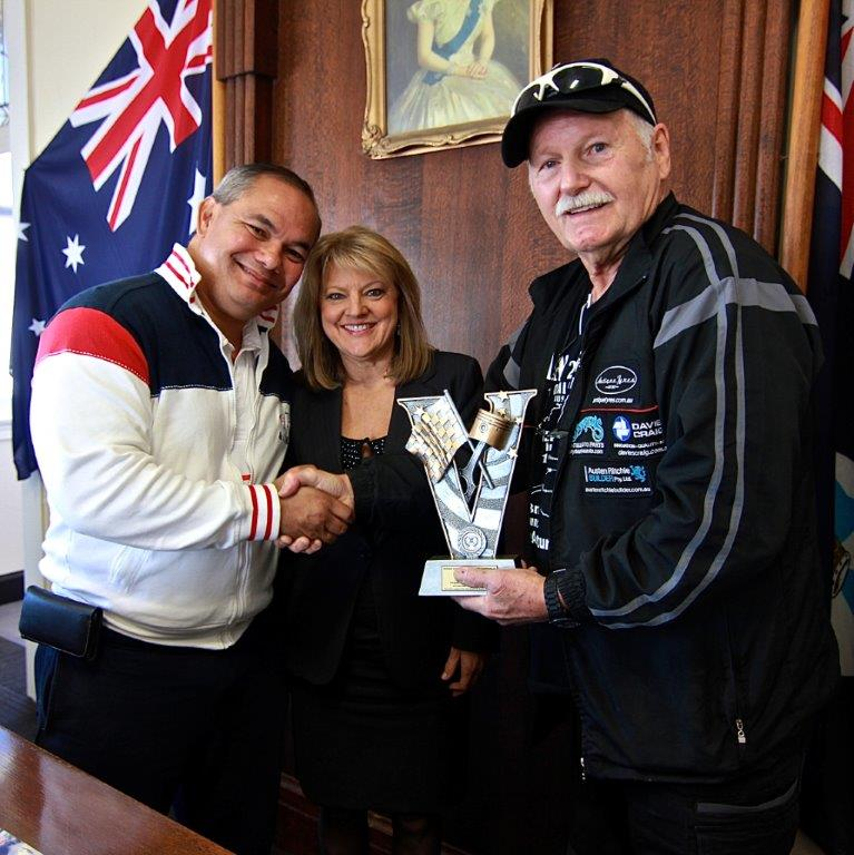 Awarding Times with Mayor Tom Tate, Dep Mayor Donna Gates and Rod Wade