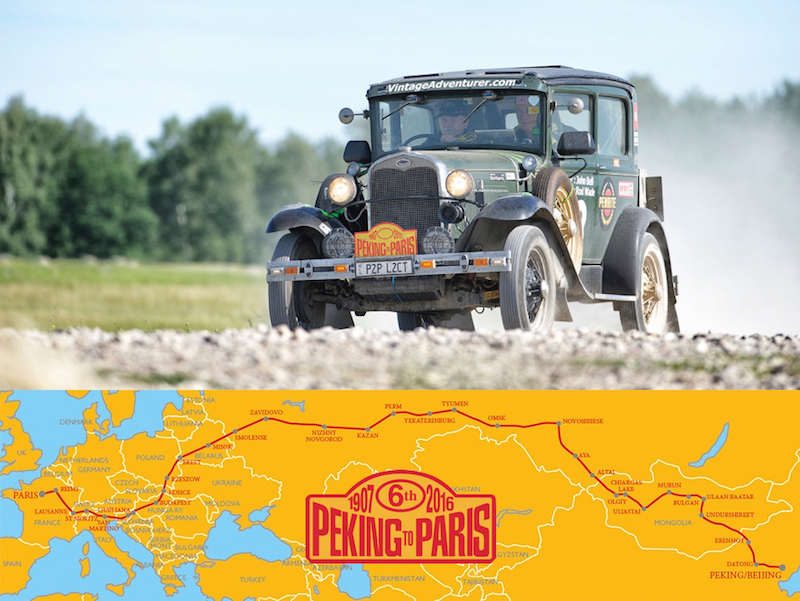 Rod Wade to take on Peking to Paris 2016