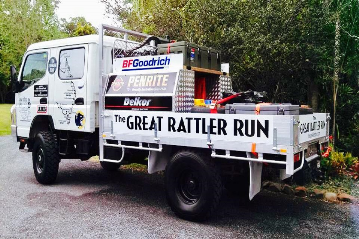 The Fuso Great Rattler Run Vintage Adventurer